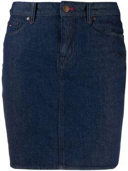 Tommy Hilfiger облегающая джинсовая юбка WW0WW26488