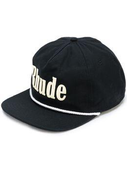 Rhude кепка с вышитым логотипом RHU06PS20095
