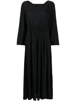 Henrik Vibskov платье макси со складками PSS20F801