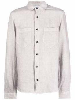 Stone Island рубашка с накладными карманами MO721511201