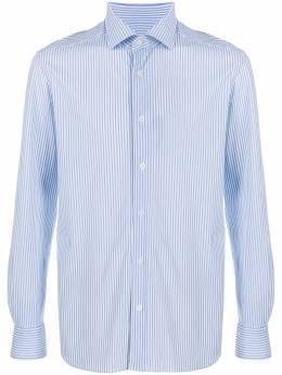 Corneliani полосатая рубашка 85P1780111477