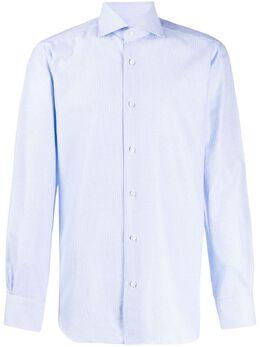 Barba рубашка с геометричным принтом I1U1326213