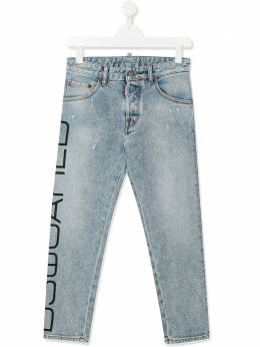 Dsquared2 Kids джинсы скинни с принтом DQ03NPD00Y7P224UDQ01