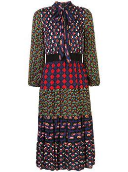 Alice + Olivia платье миди Karolina с принтом CC912P55507