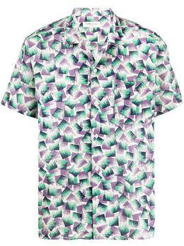Ymc рубашка с абстрактным принтом P2NAE