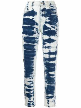 MSGM джинсы Mom с выбеленным эффектом 2841MDP51LX207274