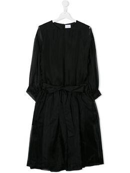 Unlabel платье с органзой 141117