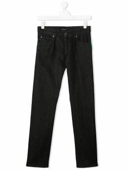 Emporio Armani Kids декорированные джинсы 3H4J451D9PZ