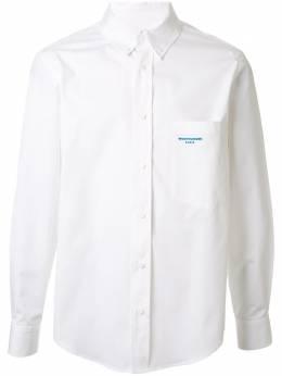 Wooyoungmi рубашка с воротником на пуговицах W201SH14WHITE