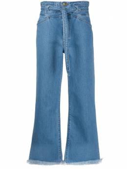 J Brand укороченные джинсы с завышенной талией JB002710