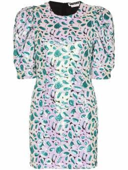 Rotate платье мини Christina с пайетками 900589