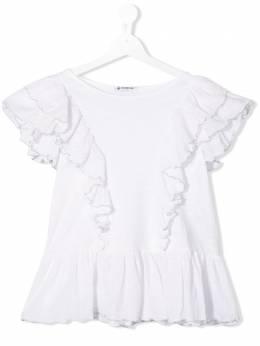 Dondup Kids блузка с оборками YS182JY0010