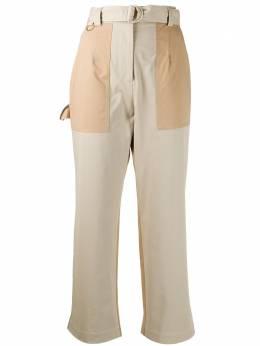 MSGM укороченные брюки свободного кроя 2841MDP13Y207112