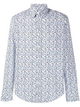 Michael Kors рубашка с абстрактным принтом CS04CK482H