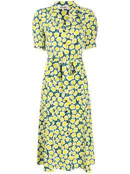 Dvf Diane Von Furstenberg платье миди Daica на пуговицах 13961DVF