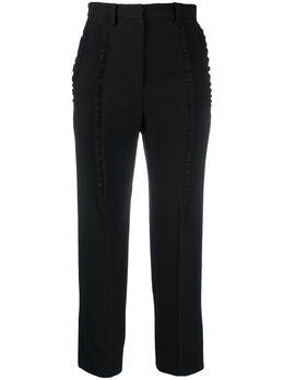 No. 21 укороченные брюки с оборками 20EN2M0B0215336