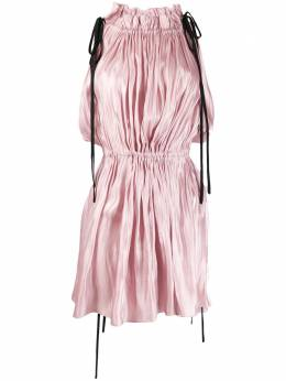 16Arlington платье мини с кулиской D063S20