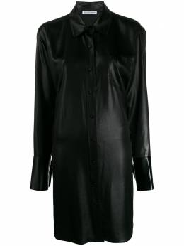 T By Alexander Wang платье-рубашка оверсайз 4WC1206001