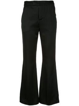 Josie Natori укороченные расклешенные брюки H17013
