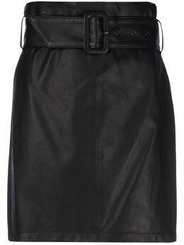 Federica Tosi юбка с завышенной талией и поясом FTE20GO0360VPELLE