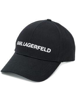 Karl Lagerfeld кепка с вышитым логотипом 96KW3414999