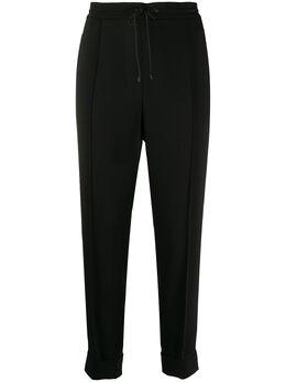 Kenzo зауженные брюки со складками FA52PA1675AM