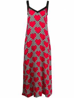 Love Moschino платье в клетку WVH8400T9938