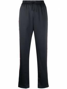 Kenzo спортивные брюки с лампасами FA52PA1315AX