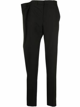 Y / Project строгие брюки с асимметричной талией PANT45S18F107BLACK