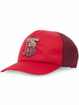 Burberry бейсболка с узором 8025185