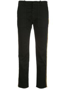 Nili Lotan укороченные брюки Jenna 00392W12
