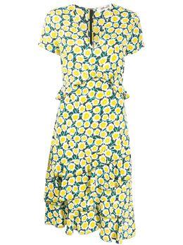 Dvf Diane Von Furstenberg платье Daica с оборками 13878DVF
