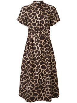 Rebecca Vallance платье-рубашка миди Acacia midi 20011680