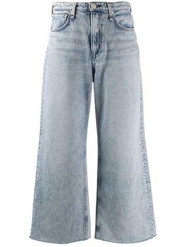 Rag&Bone брюки широкого кроя с завышенной талией WDD19H2646B1CL