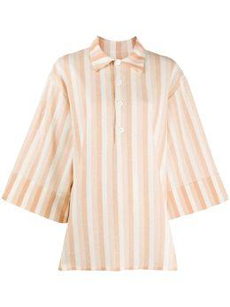 Jil Sander рубашка оверсайз в полоску JSPQ705060WQ257418