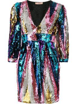 Twin-Set платье с пайетками 192TQ2070