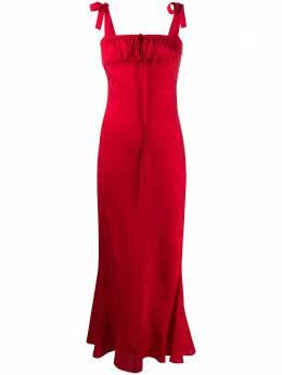 Wandering платье с цветочным принтом WGS20505