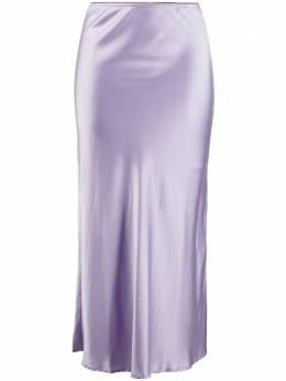 Andamane атласная юбка миди Bella L91G565