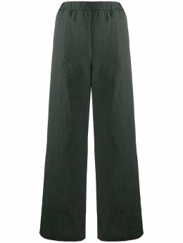 Aspesi брюки широкого кроя в полоску H128G288