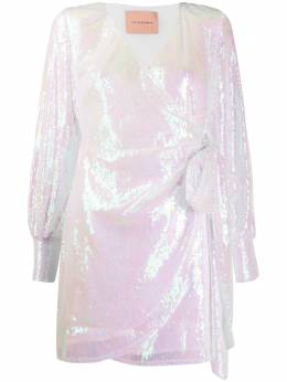 Andamane платье Carly с запахом и пайетками Q02A052
