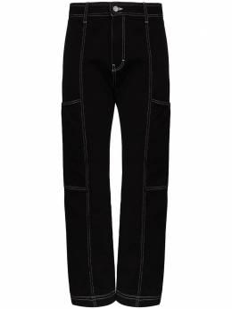 Simon Miller джинсы карго с контрастной строчкой W012C1141