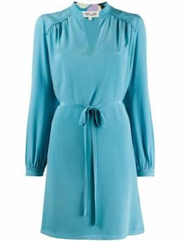 Dvf Diane Von Furstenberg короткое платье с длинными рукавами 13880DVF