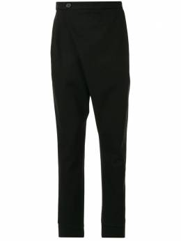 Strateas Carlucci зауженные брюки Crossover SCSS20D1MPNT001BLK