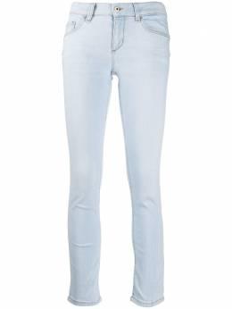 Liu Jo укороченные джинсы скинни средней посадки UA0006D4455