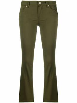 Liu Jo укороченные брюки Bootcut средней посадки WA0185T7144