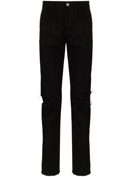424 джинсы с эффектом потертости 424CPSS200003