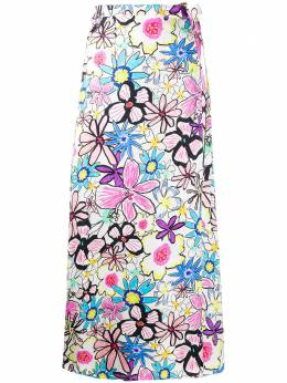 Mira Mikati юбка с цветочным принтом SKT027BOLDLINE