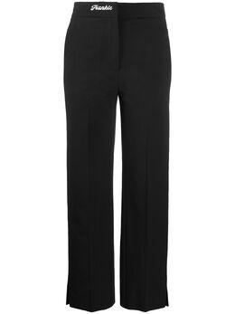 Frankie Morello брюки строгого кроя с завышенной талией FWS0116PAUNI