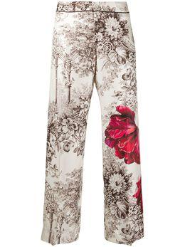 F.R.S For Restless Sleepers брюки с цветочным принтом PA002073TE00442