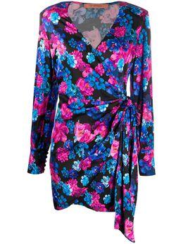 Andamane платье Carly с запахом и цветочным принтом Q02A040
